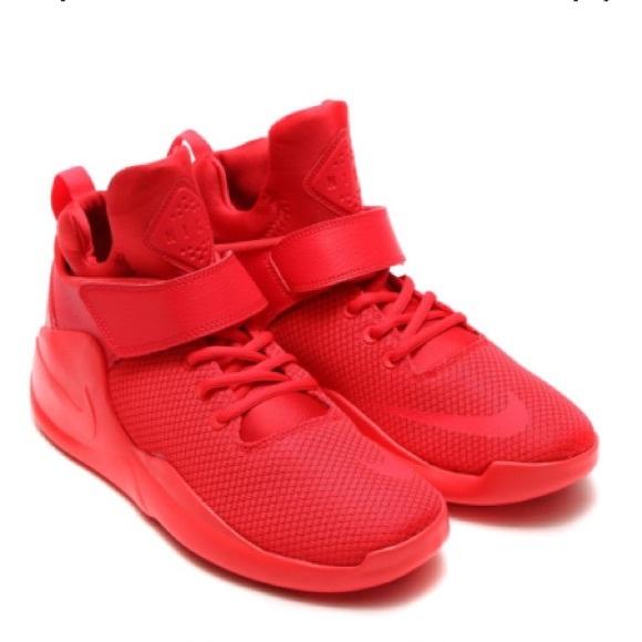 Nike Kwazi red basketball shoes